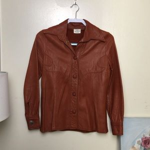 Colorado Trading Vintage Leather Jacket !!